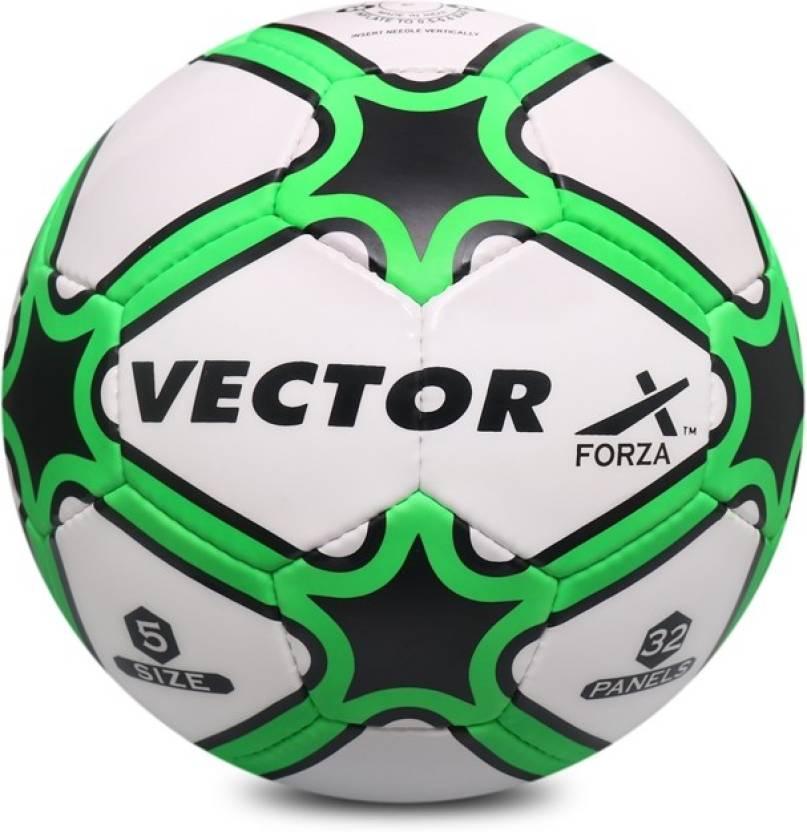 vector x forza wht grn 5 football size 5 buy vector x forza wht