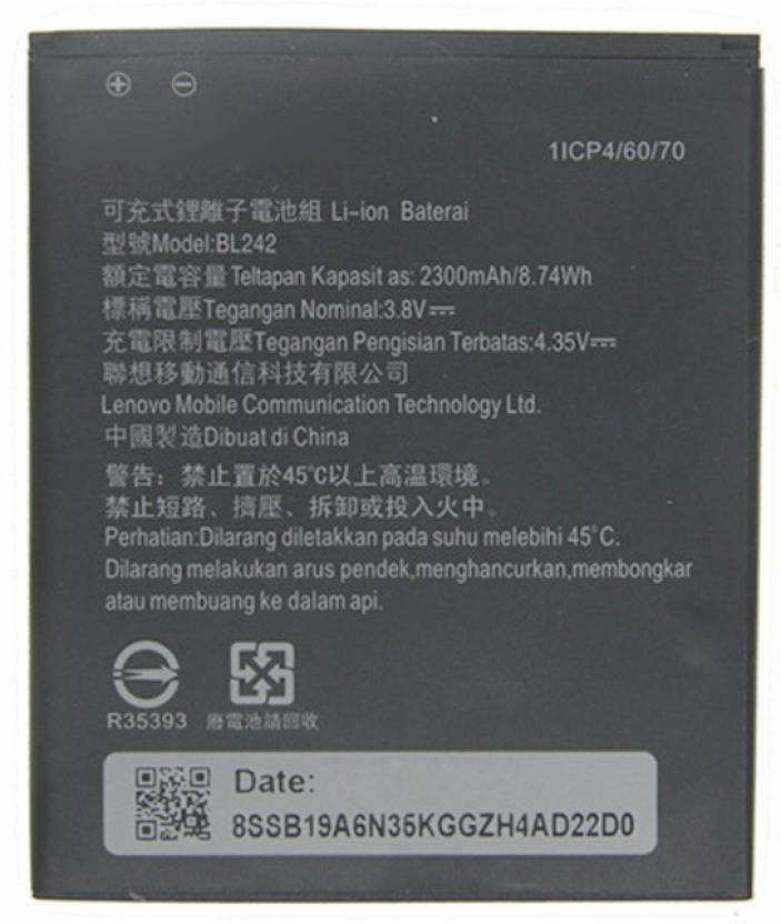 Macron Mobile Battery For Lenovo A6000 Plus Price In India
