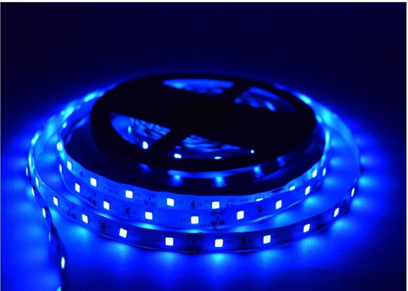 Home Delight 197 inch Blue Rice Lights