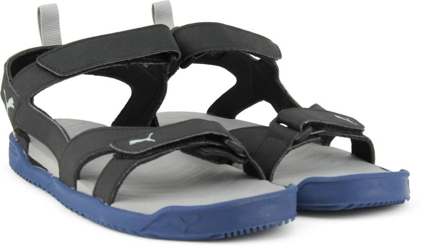 ea2bd220ef5ccc Puma Men TRUE BLUE-Puma Black Sandals - Buy TRUE BLUE-Puma Black Color Puma  Men TRUE BLUE-Puma Black Sandals Online at Best Price - Shop Online for ...