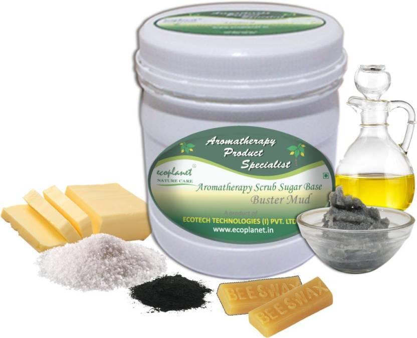 ecoplanet Aromatherapy Scrub Sugar Base Buster Mud Scrub
