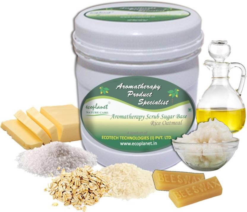 ecoplanet Aromatherapy Scrub Sugar Base Rice Oatmeal Scrub