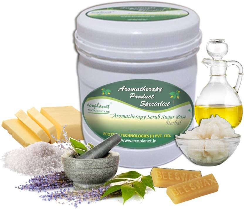 ecoplanet Aromatherapy Scrub Sugar Base Herbal Scrub