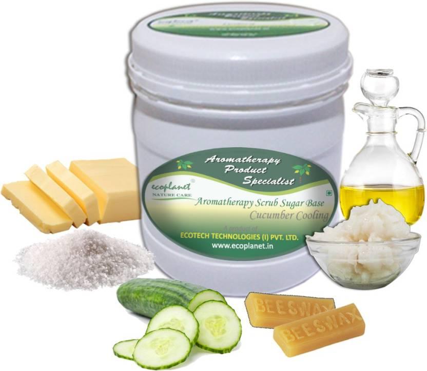 ecoplanet Aromatherapy Scrub Sugar Base Cucumber Cooling Scrub