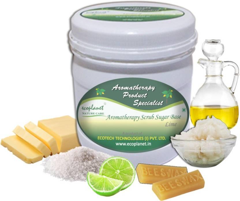 ecoplanet Aromatherapy Scrub Sugar Base Lime Scrub