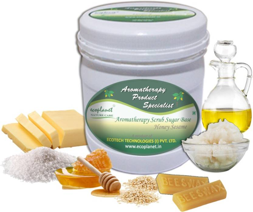ecoplanet Aromatherapy Scrub Sugar Base Honey Sesame Scrub