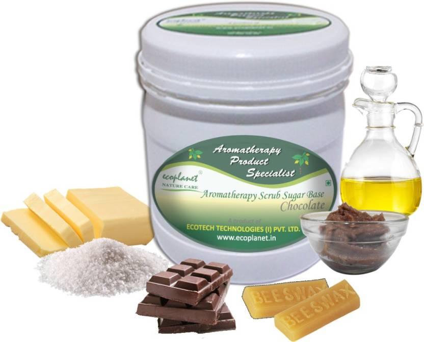 ecoplanet Aromatherapy Scrub Sugar Base Chocolate Scrub