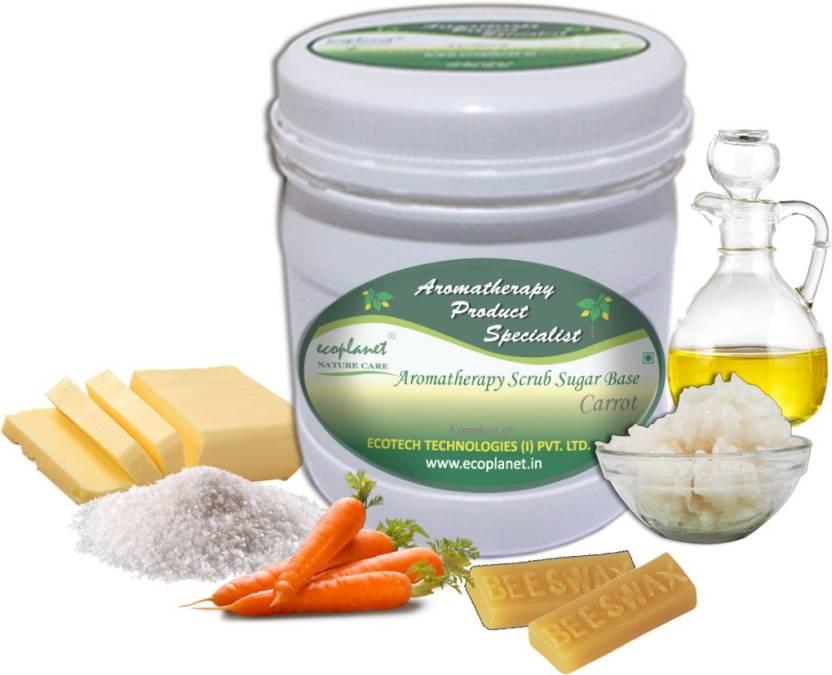 ecoplanet Aromatherapy Scrub Sugar Base Carrot Scrub