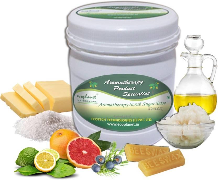 ecoplanet Aromatherapy Scrub Sugar Base Detox Scrub