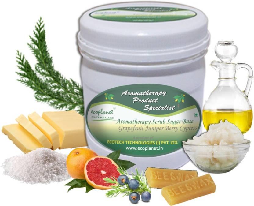 ecoplanet Aromatherapy Scrub Sugar Base Grapefruit Juniper Berry Cypress Scrub