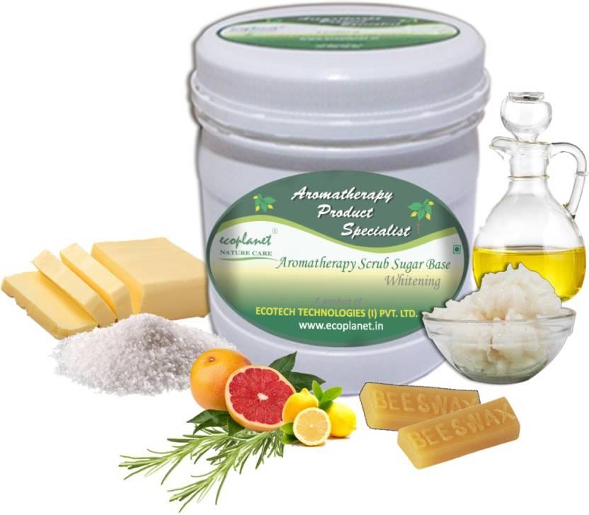 ecoplanet Aromatherapy Scrub Sugar Base Whitening Scrub