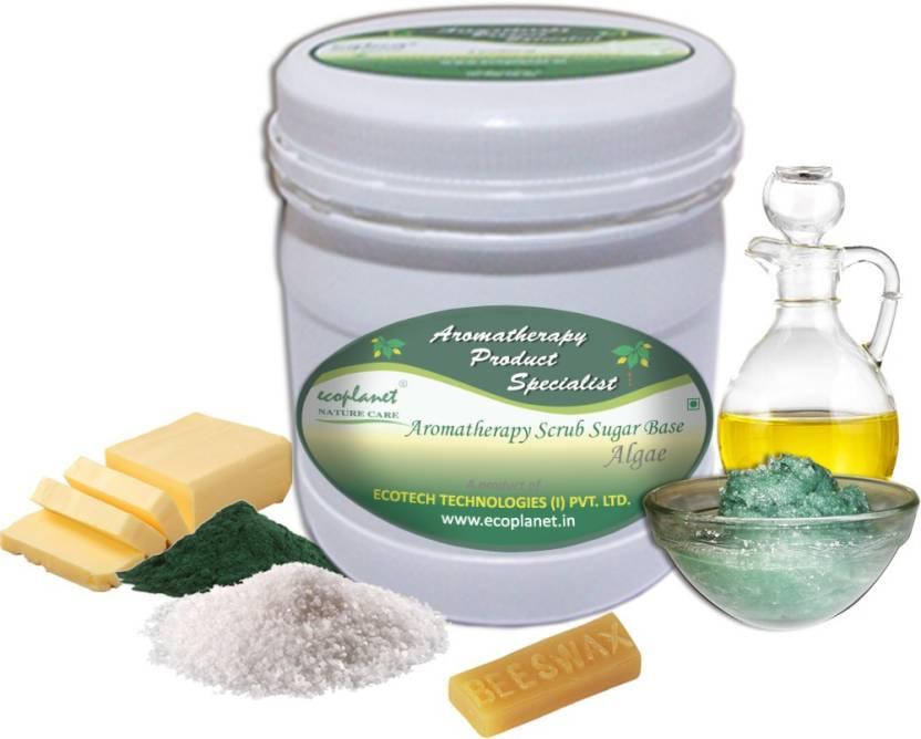 ecoplanet Aromatherapy Scrub Sugar Base Algae Scrub