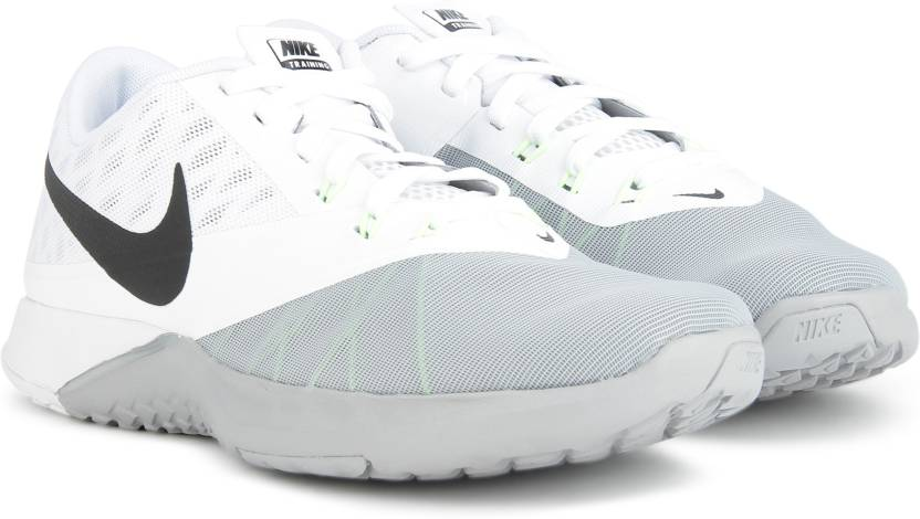 newest 38026 8c737 Nike FS LITE TRAINER 4 Training Shoes For Men (White)