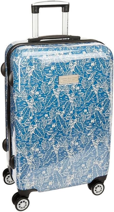 4b5a12936b3 Tommy Hilfiger Floral Mimic Cabin Luggage - 22 inch BLUE - Price in ...