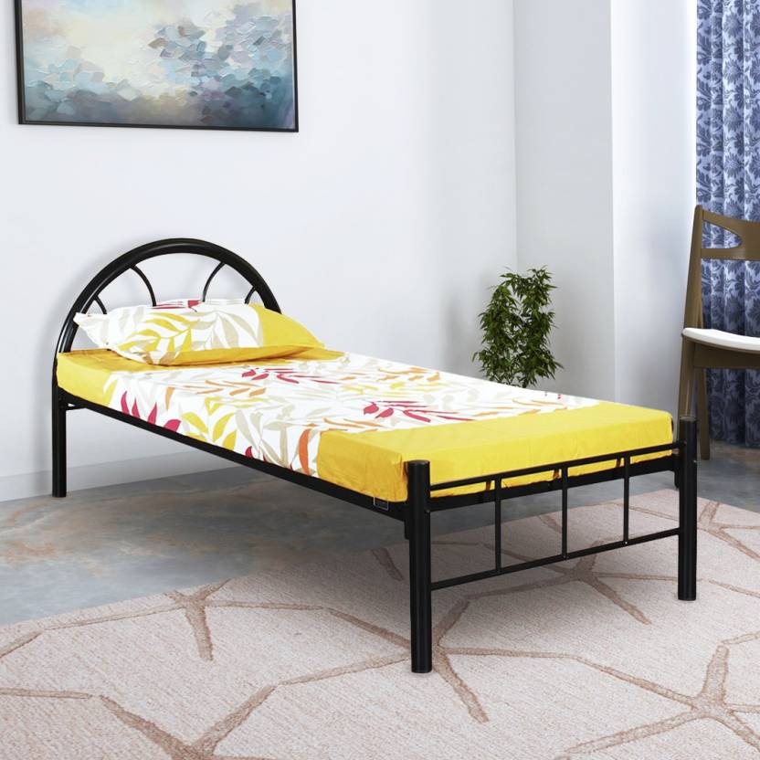 FurnitureKraft Canberra Metal Single Bed