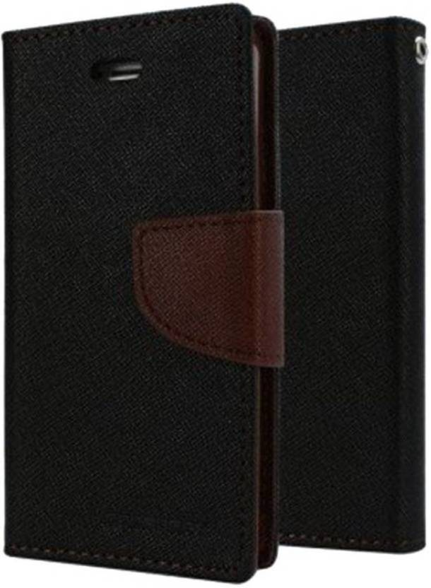5121886d8d Mercury Goospery Flip Cover for Samsung Galaxy J7 Max (Brown, Artificial  Leather)