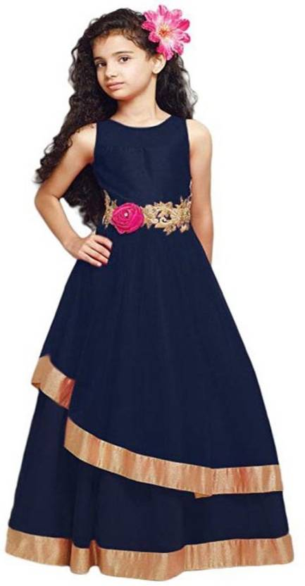 f2165e93019d satyamfab Girls Maxi Full Length Party Dress Price in India - Buy ...