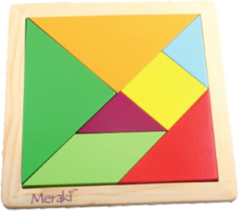 meraki Tangram Puzzle - 7 Pc - Tangram Puzzle - 7 Pc   shop for