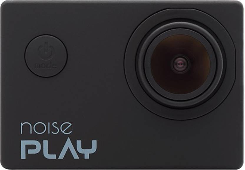 Noise Play Sports and Action Camera  (Black 16 MP)