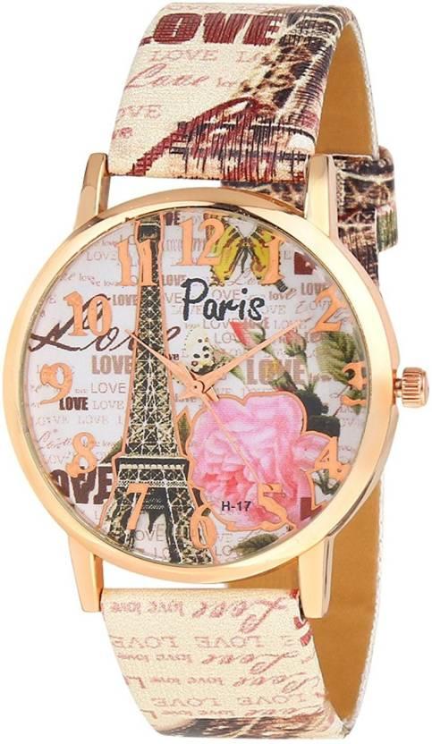 TOREK Limited Edition Paris Effil Tower MKF 2116 Watch  - For Girls