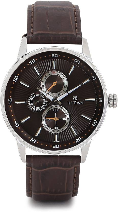 Titan 9441SL03 Smart Steel Watch - For Men