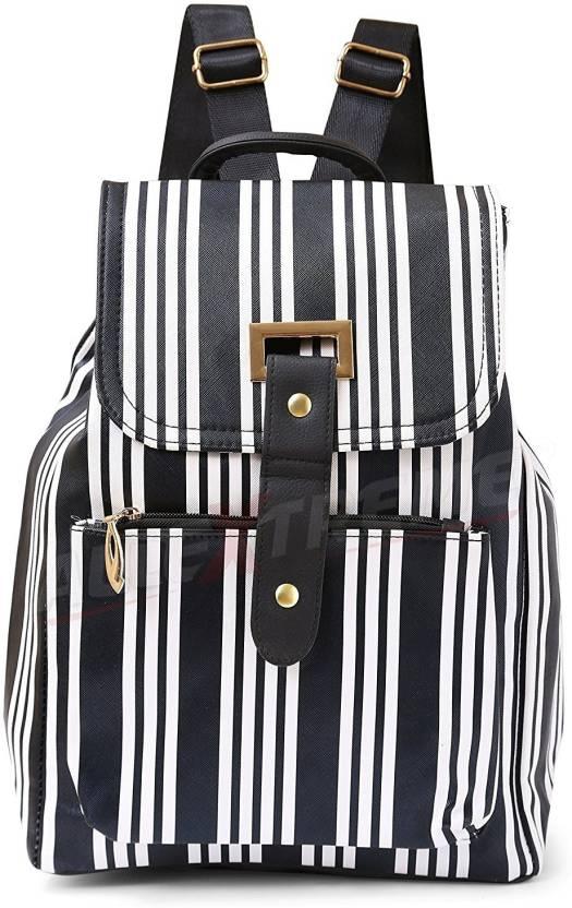 AllExtreme New Fashion Shoulders Canvas Shoulder Bag Outdoor Bag for Hiking  Polyester Material School Bag Women Teen Girls 14 L Backpack (Black 2e6057edddd99