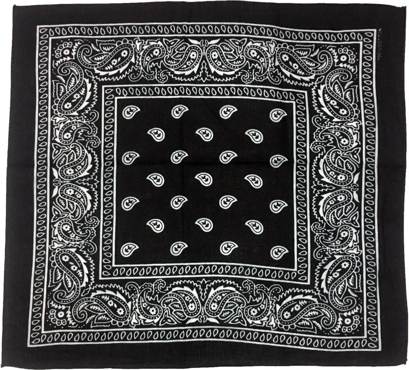 3dbc1cce532a GIRIJA Men s Printed Bandana - Buy GIRIJA Men s Printed Bandana Online at  Best Prices in India