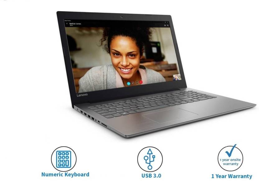 Lenovo Ideapad Core i3 6th Gen - (4 GB/1 TB HDD/DOS) IP 320E Laptop
