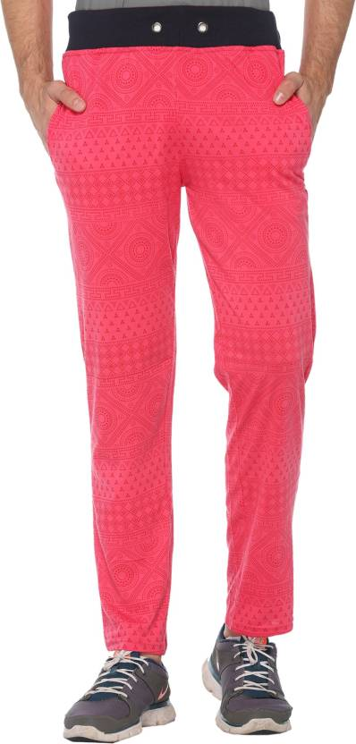 on sale hot-selling genuine Discover Shaun Printed Men's Pink Track Pants