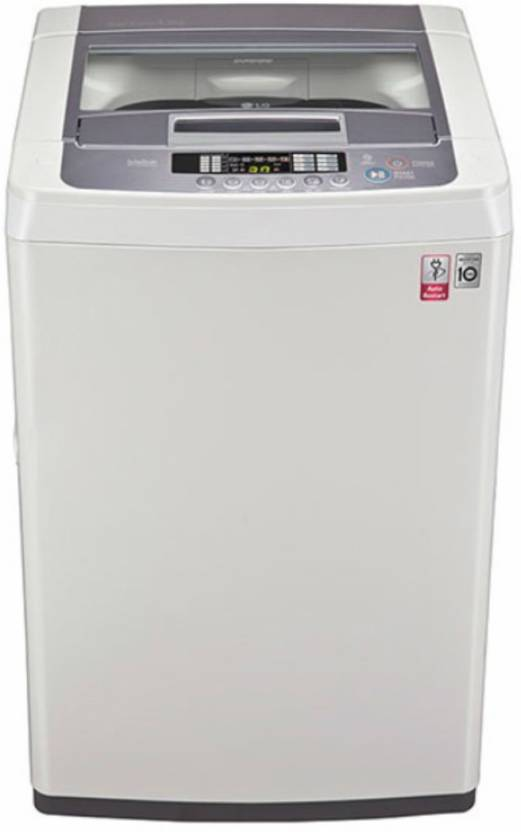 Lg 6 5 Kg Fully Automatic Top Load Washing Machine White T7569nddl