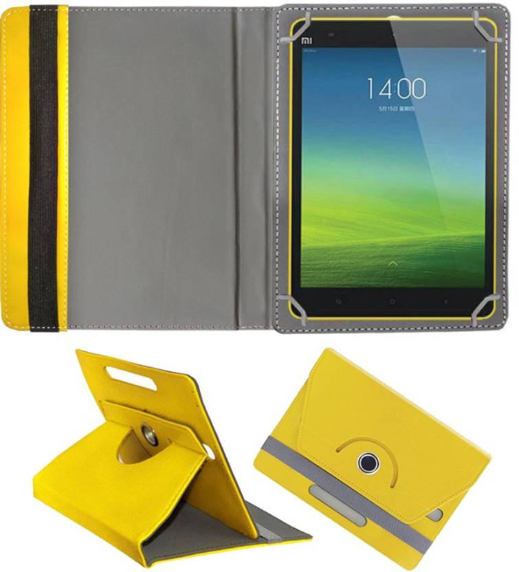 Fastway Book Cover for Xiaomi Mi Pad 7.9 Android Tablet Yellow, Cases with Holder