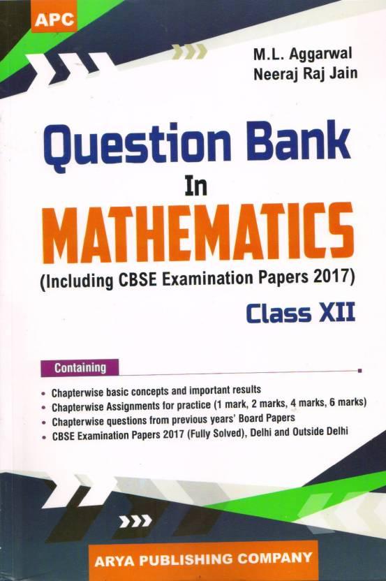 Cbse Question Bank In Mathematics - Class 12 (Cbse)