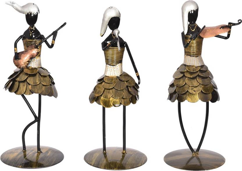 Maple Craft Beautiful Design Black Gold Coin Frock Musicians Set Of