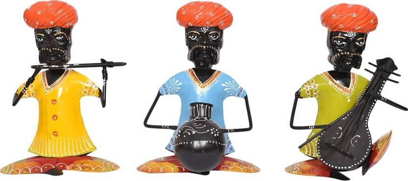 Maple Craft Multicolor Antique Rajasthani Traditional Iron Handmade