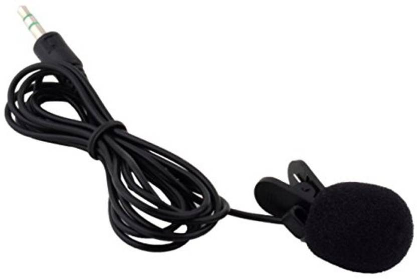 Aeoss 3.5mm Hands Free Computer Clip on Lapel Lavalier Microphone Microphone