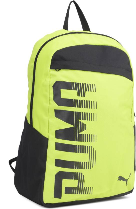 Puma Pioneer I 24 L Laptop Backpack Nrgy Yellow-Puma Black - Price ... 186ef3ab8ef0e