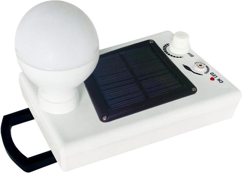 EYE BHASKAR 12 LED Wireless Solar Charging Emergency Light