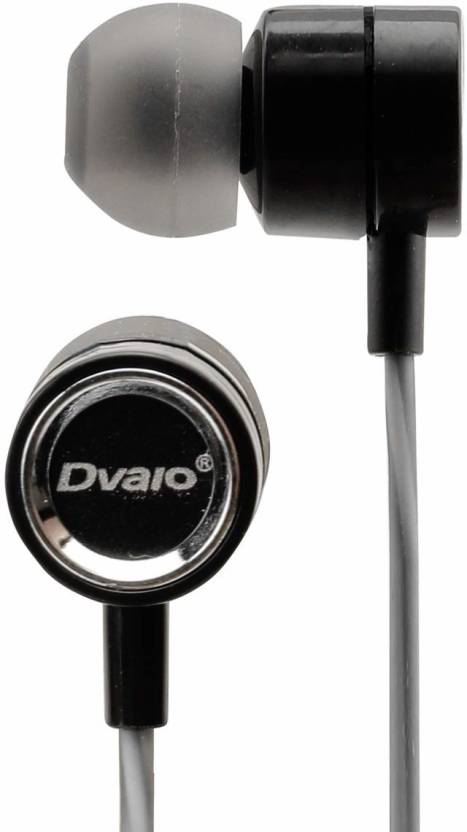 fb281288a9d Dvaio DV-08 Unstoppable Universal Wired Headset with Mic (Black, Grey, In  the Ear)