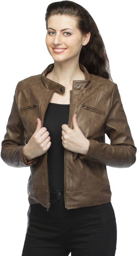 24c0576db9e Emblazon Full Sleeve Solid Women s Riding Jacket - Buy Emblazon Full Sleeve  Solid Women s Riding Jacket Online at Best Prices in India