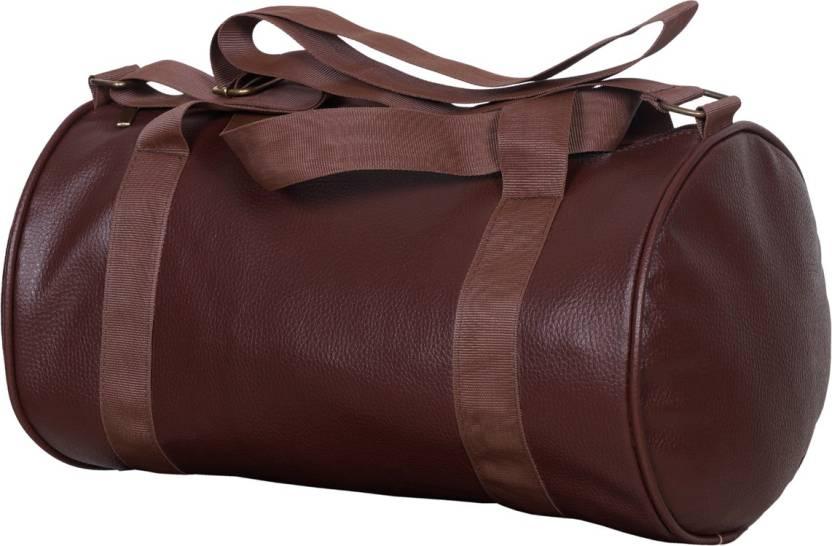 42822b77eeb4 Dee Mannequin Trendy Stylish Gym Bag Brown - Price in India ...