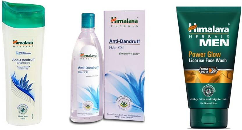 Himalaya Anti Dandruff Shampoo Anti Dandruff Hair Oil Power Glow