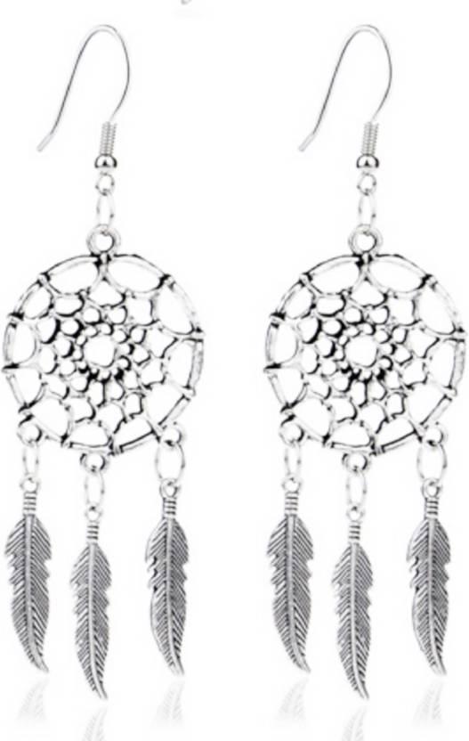 Flipkart Buy ITS ITS Dream Catcher Earring Alloy Dangle Extraordinary Dream Catcher Earrings Online