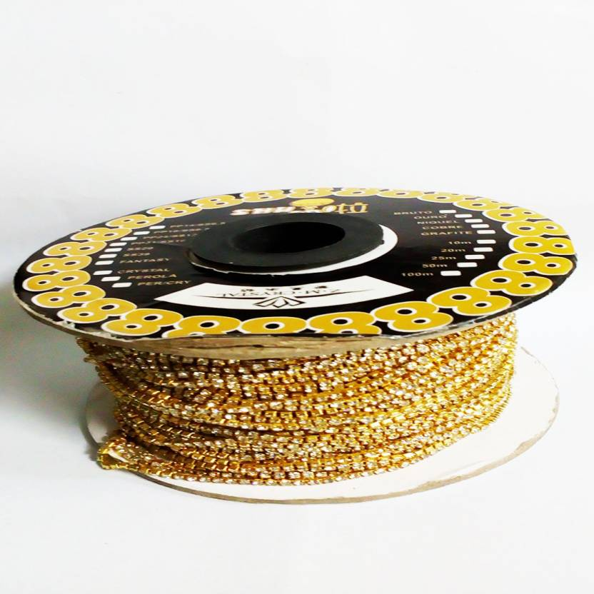 Vahvaa 2 meters Stone lace for jewelery making - 2 meters Stone lace for  jewelery making . shop for Vahvaa products in India.  45e540a32