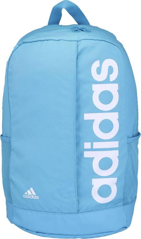 ADIDAS Lin Per Bp 22 L Backpack Bright Cyan - Price in India ... 492af40e3fec7