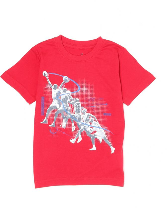 dd2fcadfe7a6 Jordan Boys Printed Cotton T Shirt Price in India - Buy Jordan Boys ...