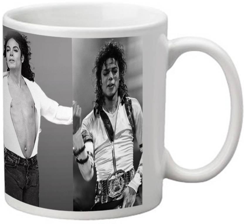 nAuGhTyHOt Michael Jackson Collage Design mug Ceramic Mug