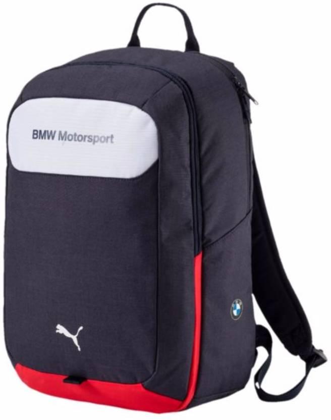 eadaad136f63 Puma BMW Motorsport 23 L Laptop Backpack Blue - Price in India ...