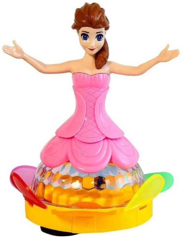 AmaKart Dream Princess Doll with Music and 4D Lights
