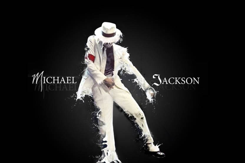 Michael jackson suit dance Poster Paper Print(18 inch X 12 inch, Rolled) Paper Print