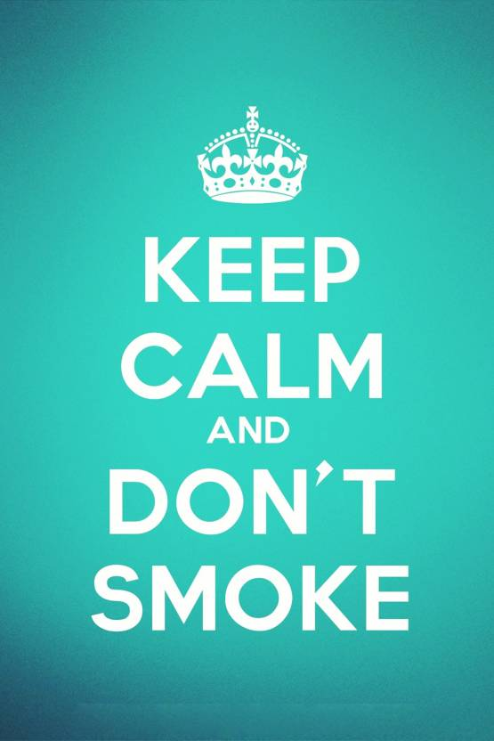 Inspirational quotes for quitting smoking Poster Paper Print (18
